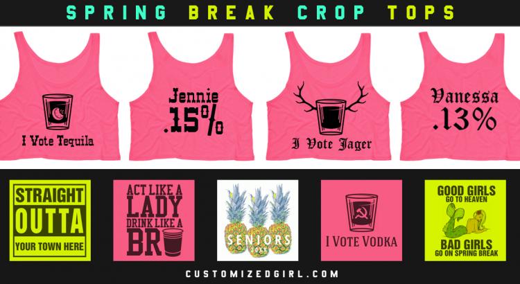The Best Crop Tops For Spring Break