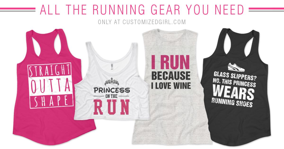 Funny Running Shirts - CustomizedGirl Blog