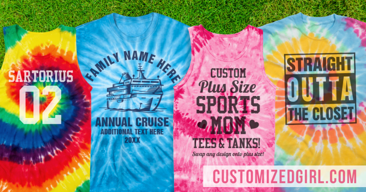 bfb70564a29 Custom Tie-Dye Shirts To Die For - CustomizedGirl Blog