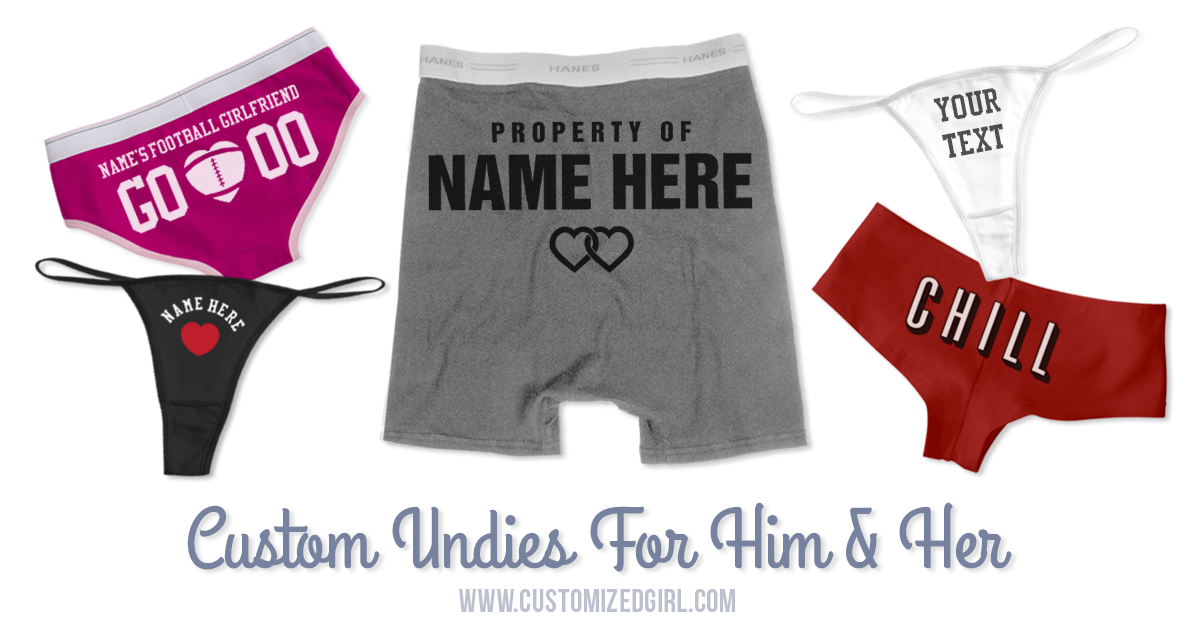 exclusive shoes real quality fantastic savings Custom Underwear and Boxers for National Underwear Day ...