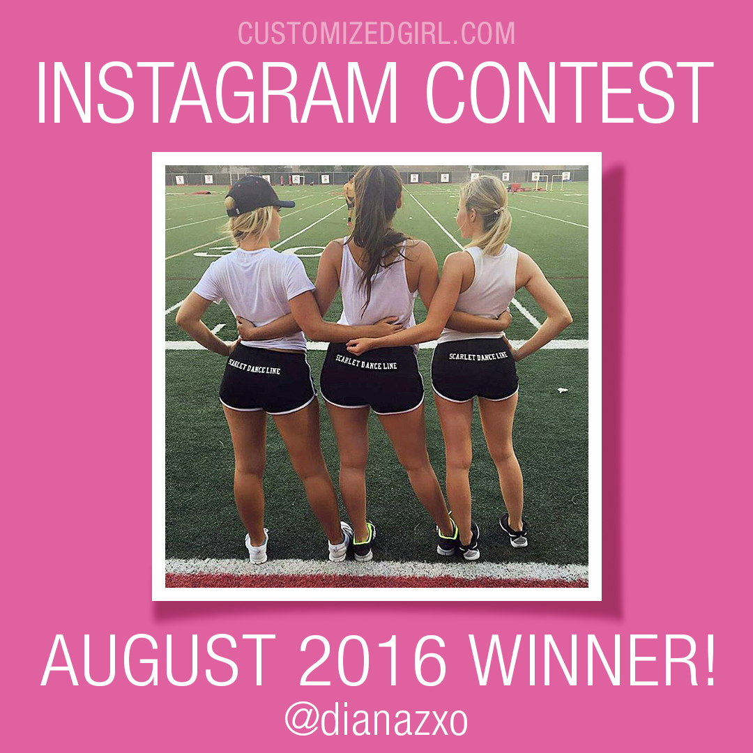 Customized Girl Instagram Winner