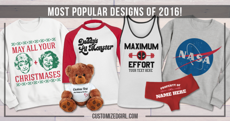The Most Popular Shirts From 2016