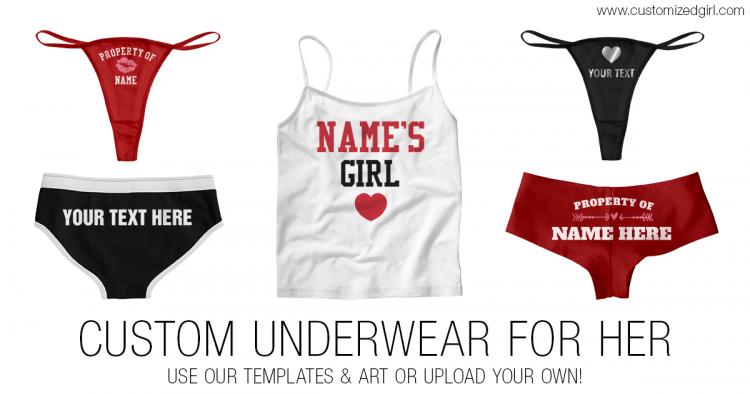 Valentine S Day Custom Underwear For Her Customizedgirl Blog