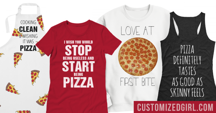 Pizza Shirts For National Pizza Day