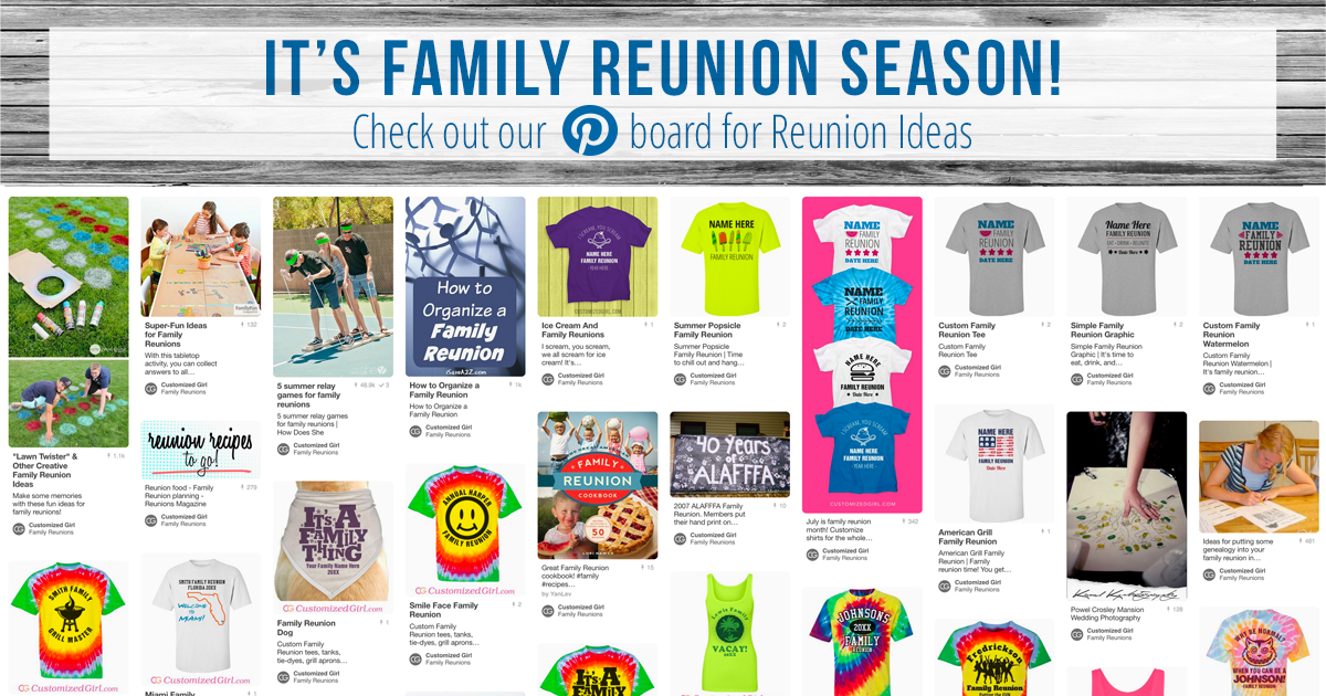 Family Reunion Ideas >> Family Reunion Ideas Customizedgirl Blog