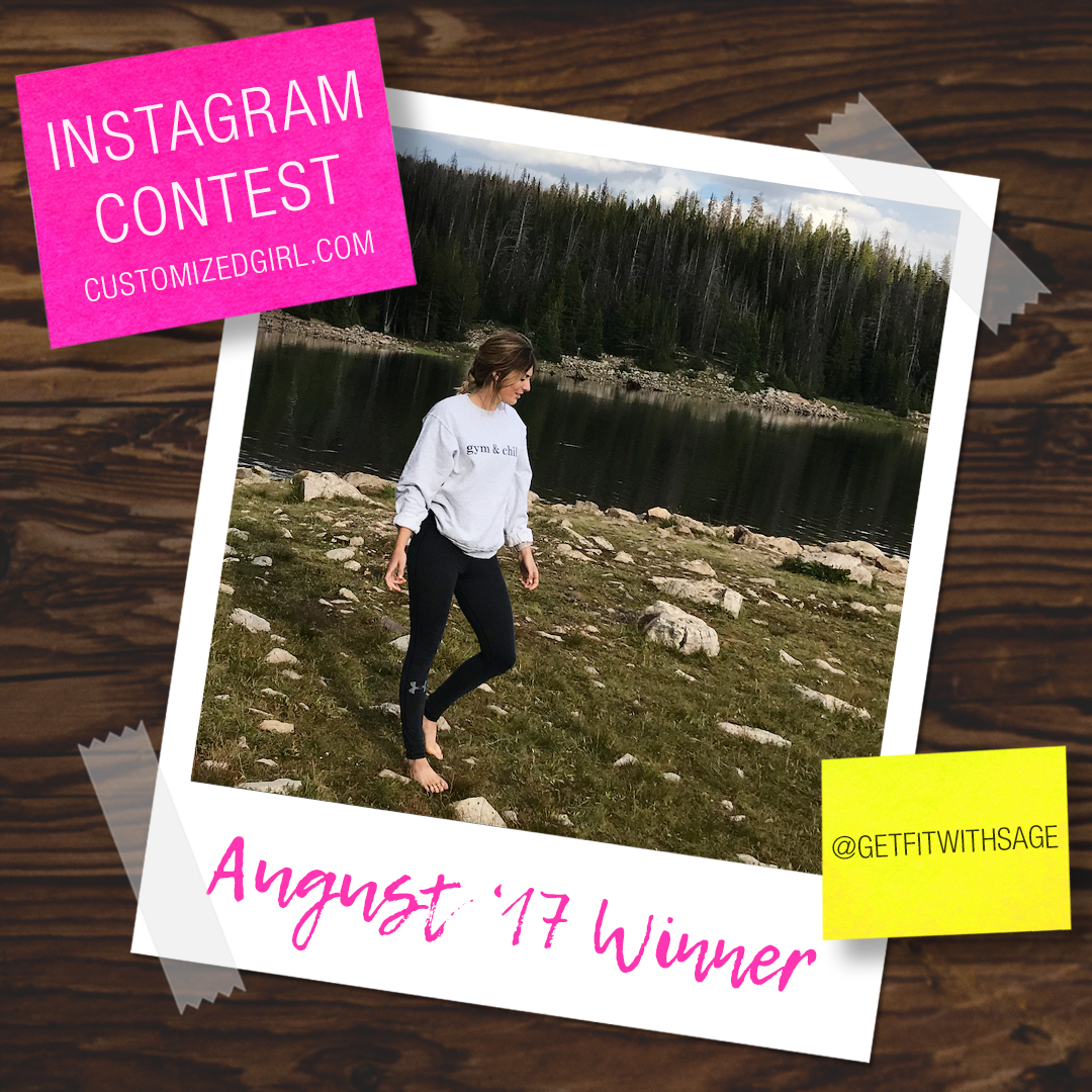August 2017 Selfie Instagram Winner