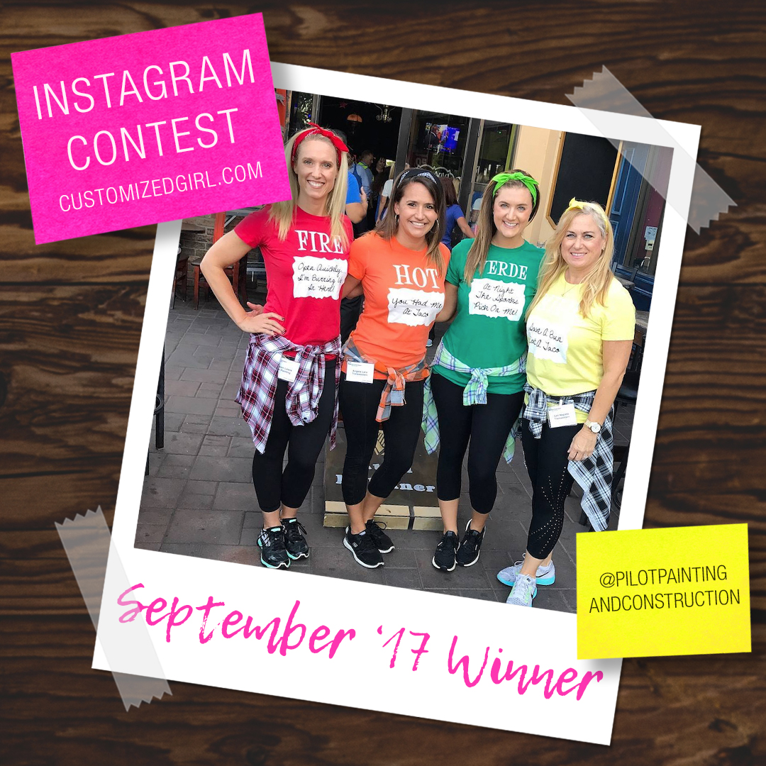 September 2017 Selfie Instagram Winner