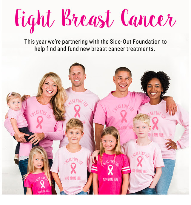 Breast Cancer Shirt Fundraiser