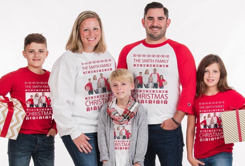 Custom Christmas Sweatshirts and Shirts