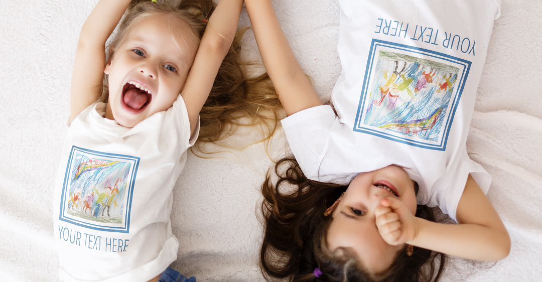 Kids Wearing Their Own Artistic Creations