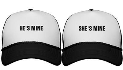 He's Mine Trucker Hat