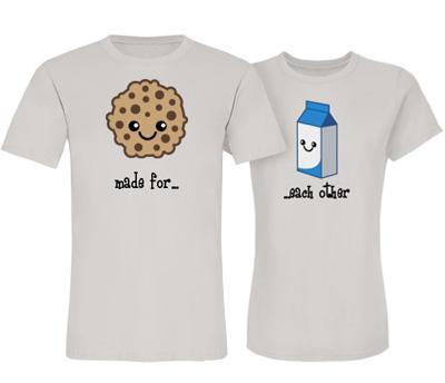 Milk & Cookies Couple Her