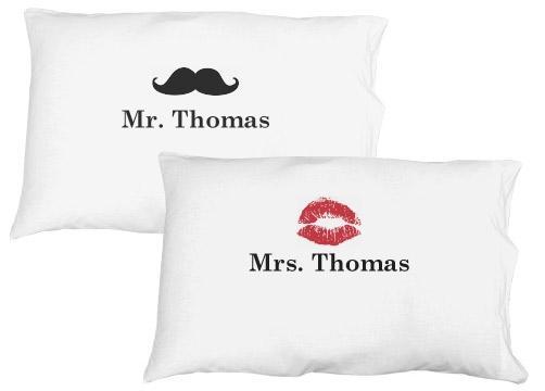 Mr. Mustache Pillow Case