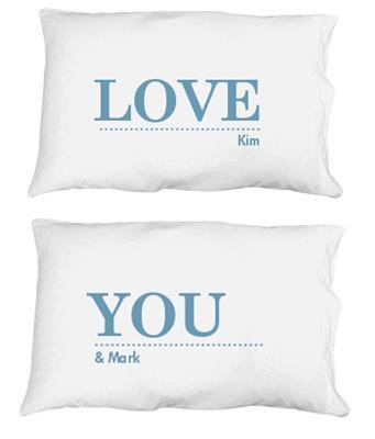 Love His Pillow Case