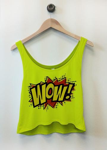 Neon WOW! Comic Top