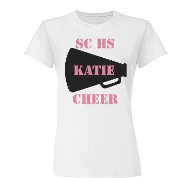 SC HS Katie's Cheer T