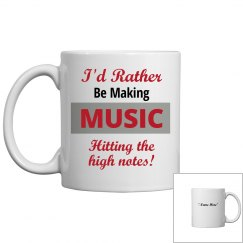 I'd rather be making music
