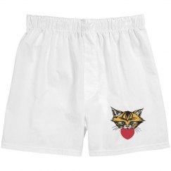 Love Kitty Boxer Shorts