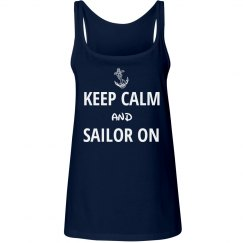 Keep calm and sailor on