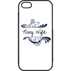Navy Wife iPhone 5/5s Case