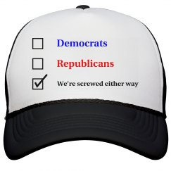 Election Ballot - We're Screwed