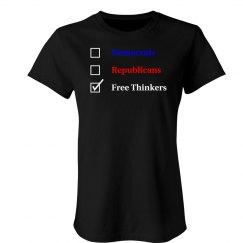 Election Ballot - Free Thinkers
