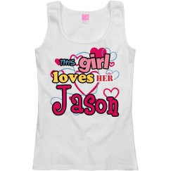 This girl loves Jason!