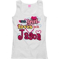 This girl loves Jason!