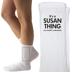 It's a Susan thing
