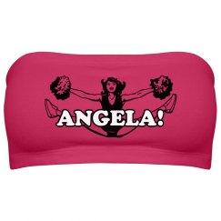 Angela at Cheer Camp
