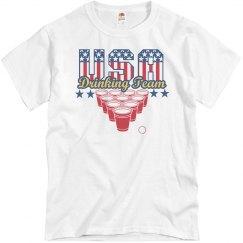 USA Pong Drinking Team