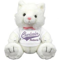Cheerleader Cheer Kitten