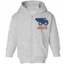 Joseph Loves Trucks