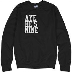 Rhinestone Aye He's Mine
