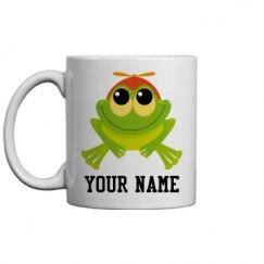 Frog Lover Cute Animal Customized Mug