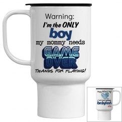 Mommy's Boy Mug