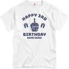 Happy 3rd Birthday Tim