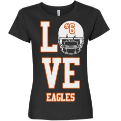 Love eagles Tshirt