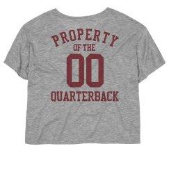 Property of the quarterback
