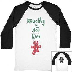 Naughty nice gingerbread