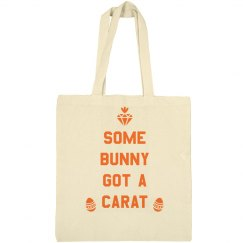 Some Bunny Got a Carat Easter Bag