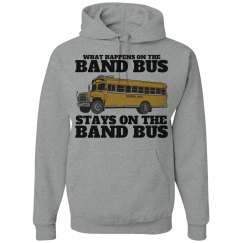 Marching Band Bus Secrets Hoodie