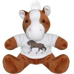 Horse plushie