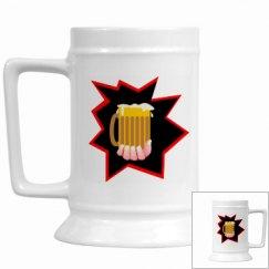 Beer Mug Burst
