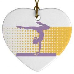 Gymnastics Xmas Ornaments