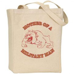 Military Mother Tote Bag
