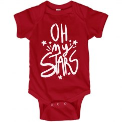 Oh My Stars and Stripes Onesie
