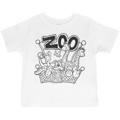 Let's Go To The Zoo Kids T-shirt