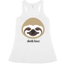 Sloth Love Tank