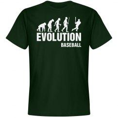 Evolution baseball shirt